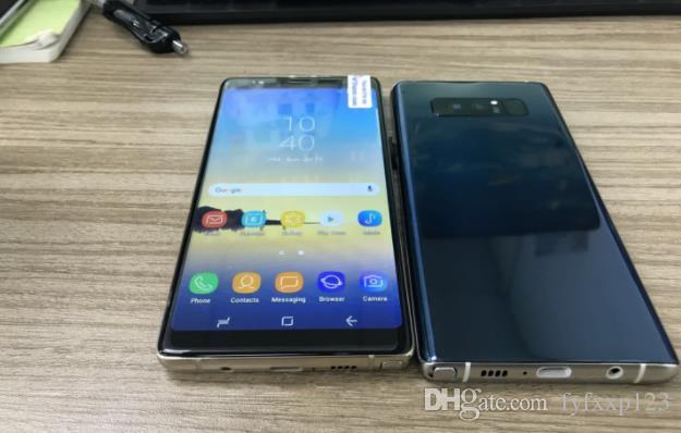 high quanlity Goophone N 8 n8 5.5inch MTK6580 Unlocked cell Mobile phone Quad Core 1G Ram 4G Rom smartphone fake 4G xxp18