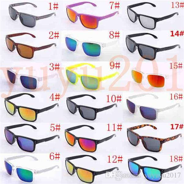 18color luxury designer sunglasses fashion mens womens sunglasses for man woman outdoors cycling sports vintage sunglasses lhhl009102