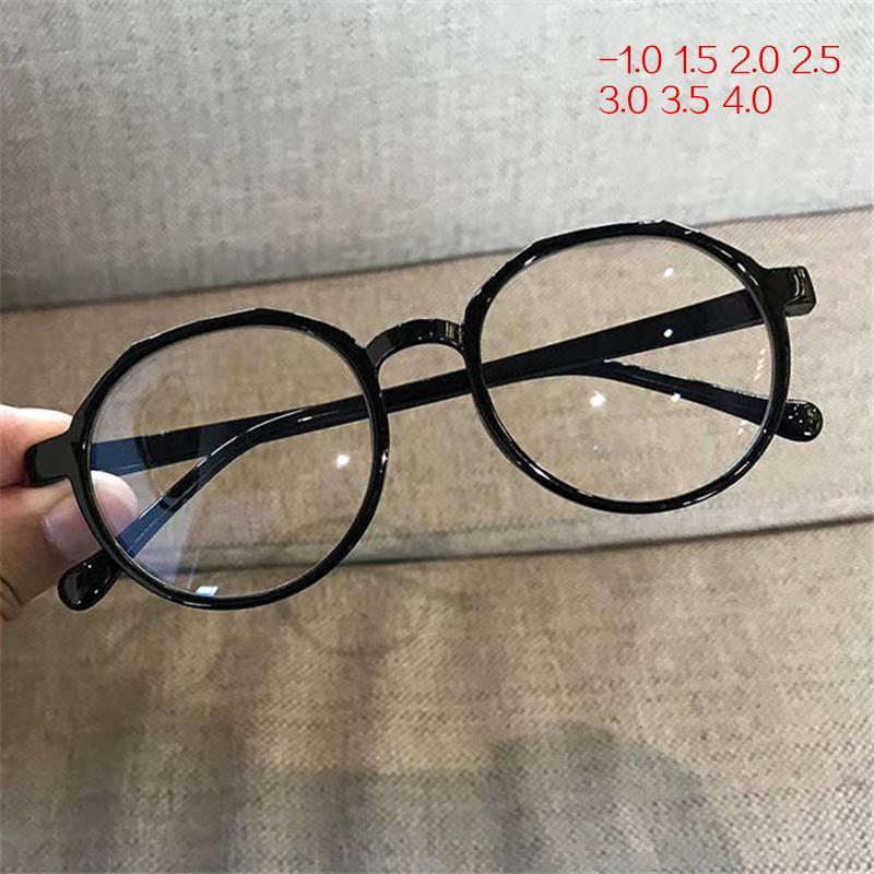 Oulylan -1,5 -2,0 -2,5 -1,0 -3,0 -3,5 -4,0 Terminada la miopía de los vidrios de las mujeres de los hombres irregular lentes unisex miope Gafas