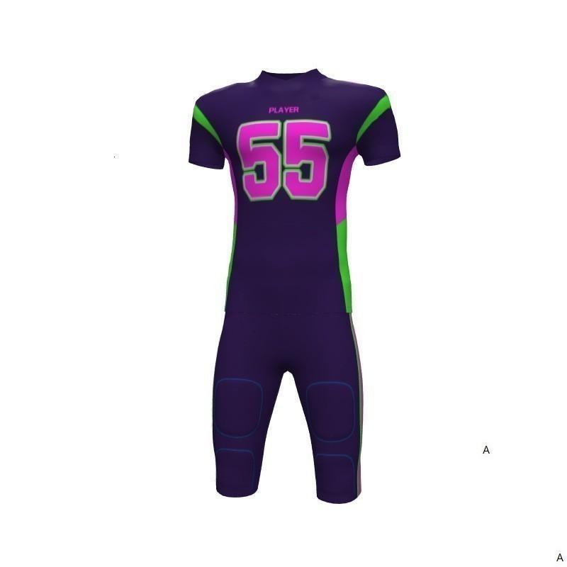 2019 Uomo Nuovo gioco del calcio del pullover di modo di stile Nero Verde Sport Stampato Nome Numero S-XXXL Road Home Camicia AFJ00158Tcm