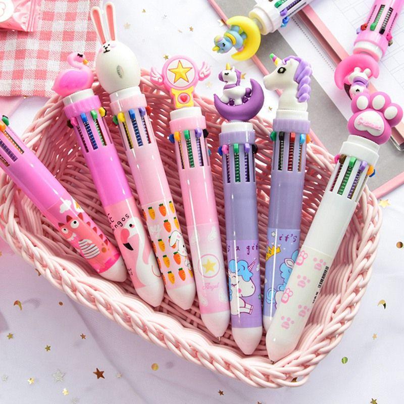 Top-oferta 11 colores disponibles beadpen bolígrafo multicolor