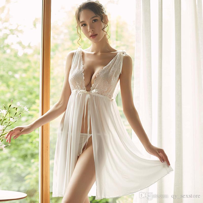 Porno 란제리 뜨거운 여자 아기 인형 Lenceria Sexi 에로틱 란제리 드레스 의상 Babydoll 속옷 섹스 의상