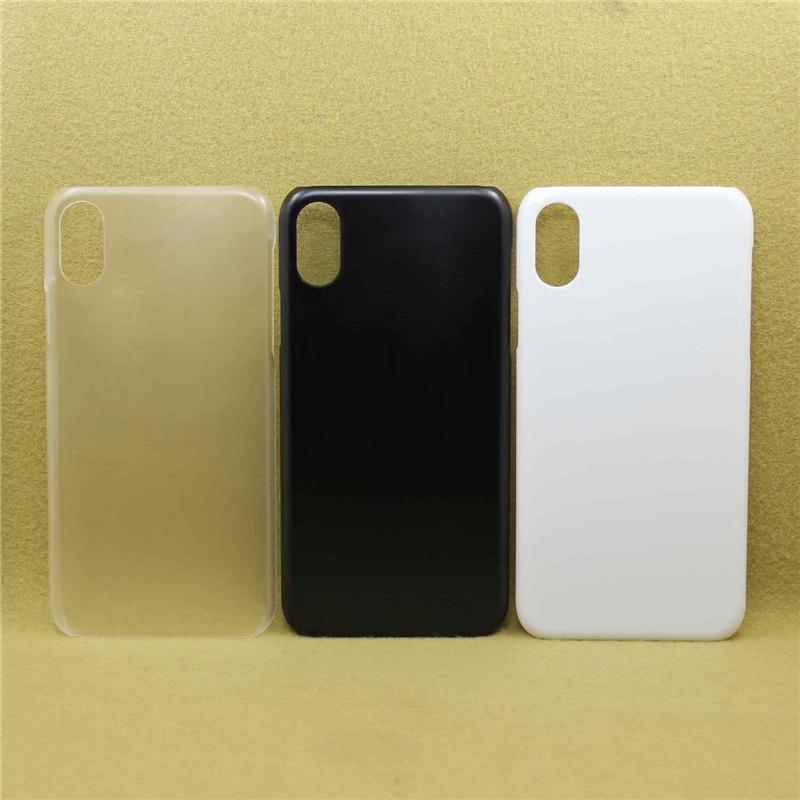 Matte Frosted Phone Cover 3 Colors Sublimation Blank Phone Case Hard PC Case Protector Heat Press Phone Shell For iPhone X XR XS MAX