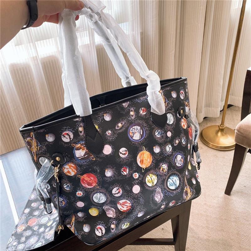 حقيبة الكتف المصممة الجديدة حقيبة اليد العارضة أكياس التسوق الجيدة الموضة CFY20042039