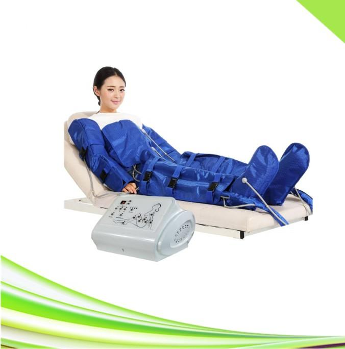 Spa presoterapia presoterapia traje de masaje de drenaje linfático delgada presoterapia