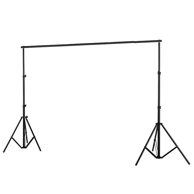 Бесплатная доставка 2.8 м * 3.2 м фотографические фонов фоновая система поддержки стенд держатель поперечины свет стенд алюминий с сумкой для переноски