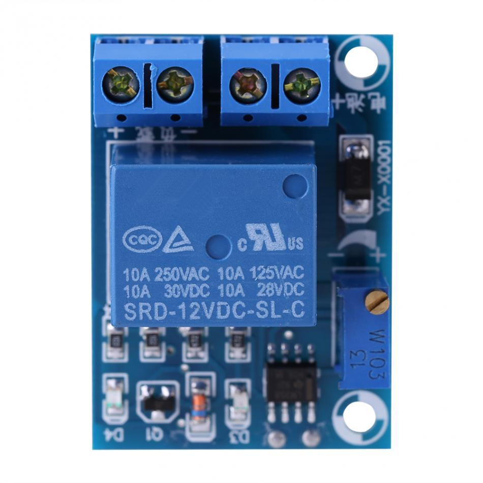 Freeshipping Top Quality 12V Storage Battery Undervoltage Switch Module Board Management Cut off Load Switch Controller Protection Module