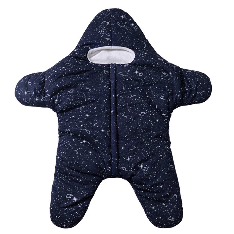 Baby Boys Girls Cartoon Shark Sleeping Bag Bunting Outfits Romper Outwear