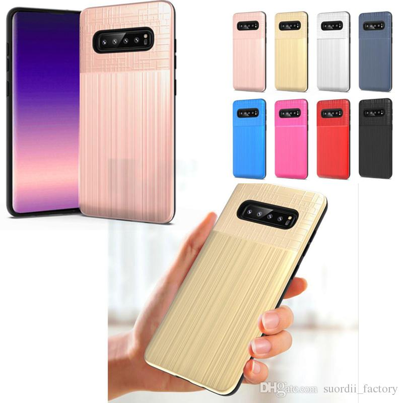 2 1 Darbeye Combo Vaka Samsung Galaxy s10e s10 için artı S10Lite J3 J7 J4 J6 J8 2018 A6 Artı J7 Duo Note9 Hibrid Zırh Arka Kapak