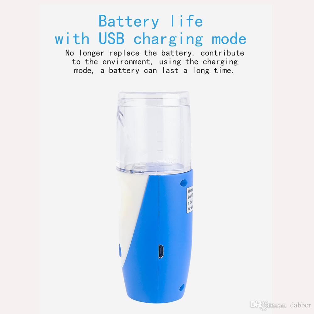 Yeni Sağlık Mini El taşınabilir Nefes Nebulizatör sessiz Ultrasonik inalador nebulizador Çocuk Yetişkin Şarj edilebilir automizer