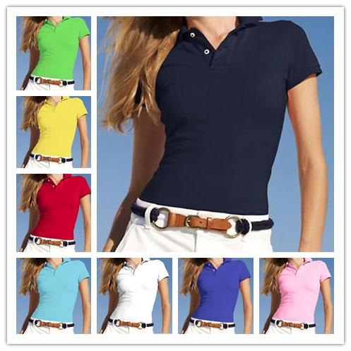 Women Polo Shirt Style Classi Summer Fashion small Horse Embroidery high quality Polo Shirts Cotton Slim Fit Polos Top Casual polos shirts
