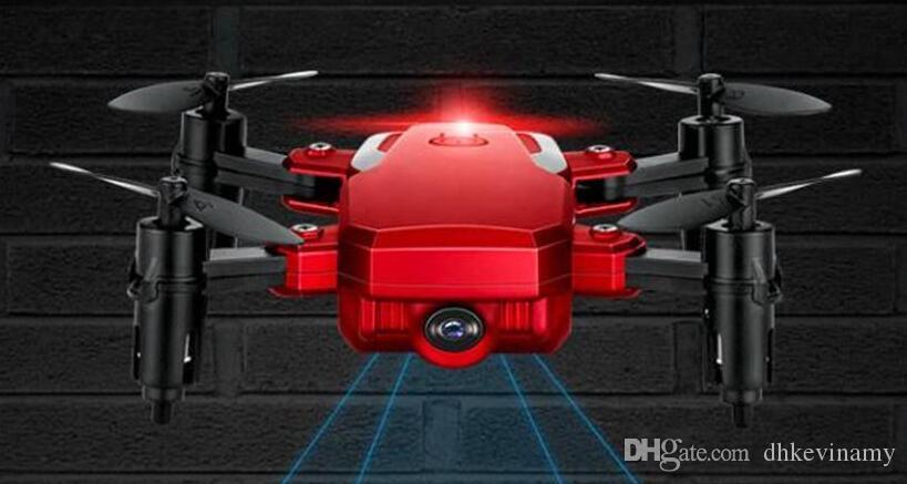 Drone plegable con la cámara HD de gran ángulo WiFi FPV Altitud Hold RC Quadcopter Helicopter TXD-G1