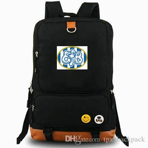 EFB рюкзак Esbjerg fB значок клуб день пакет 1924 футбольная школа сумка футбол рюкзак ноутбук рюкзак Спорт школьный открытый рюкзак