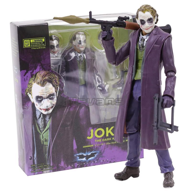 SHF Joker Batman The Dark Night PVC Action Figure Collectible Model Toy