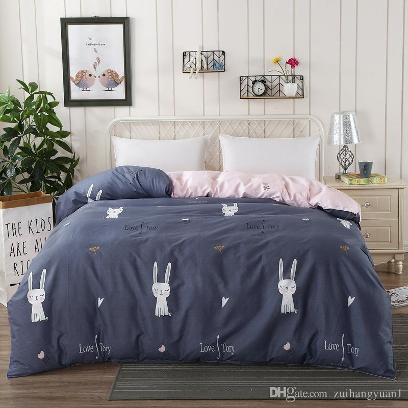 Полный размер домашний текстиль постельных принадлежностей Король Королева размер 1.5 м кровать кровать Кровать крышка в сплошной цвет