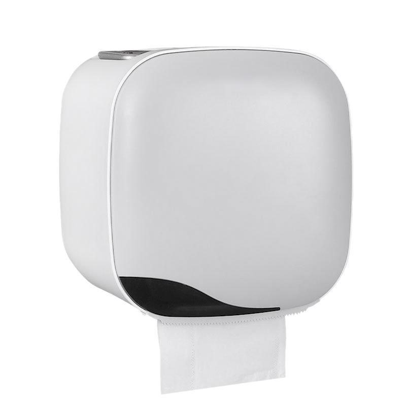 Waterproof Toilet Roll Tray Free Punch Paper Towel Tray Toilet Paper Rack
