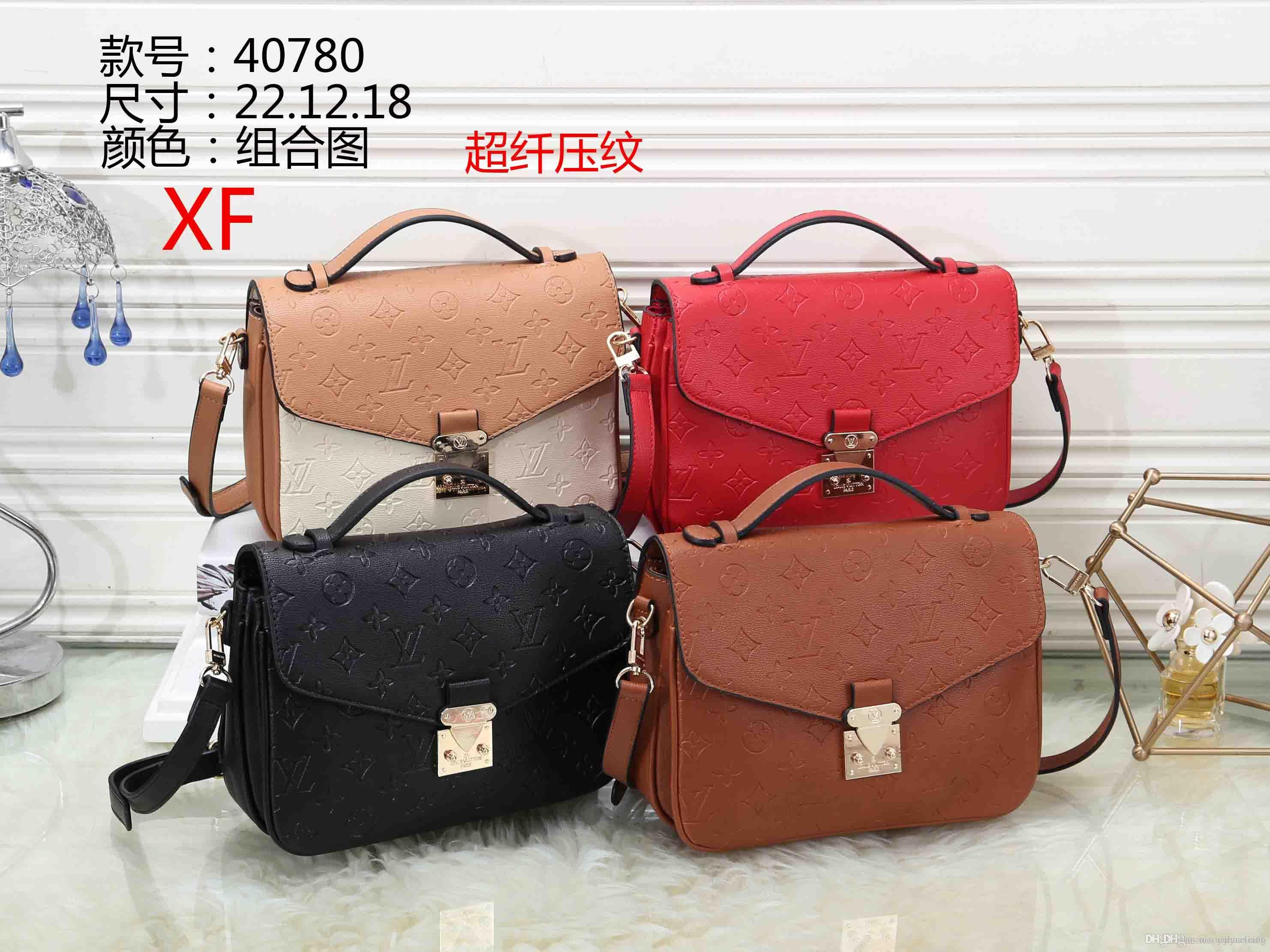 Lowest Price ! Classic PU Leather Black Golden Silver Chain Hot Sell Wholesale Retail New Bags Handbags Shoulder Bags Tote Bag Messenger