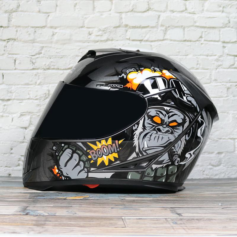 Gratuit Casque de moto Casque intégral respirant Capacete Da Motocicleta ABS équitation Cascos Para Moto Motocross
