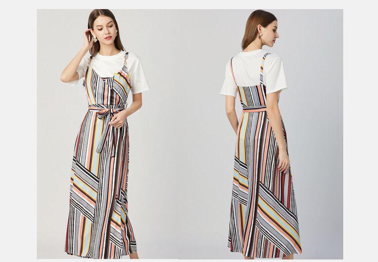 spaghetti strap dress with t shirt