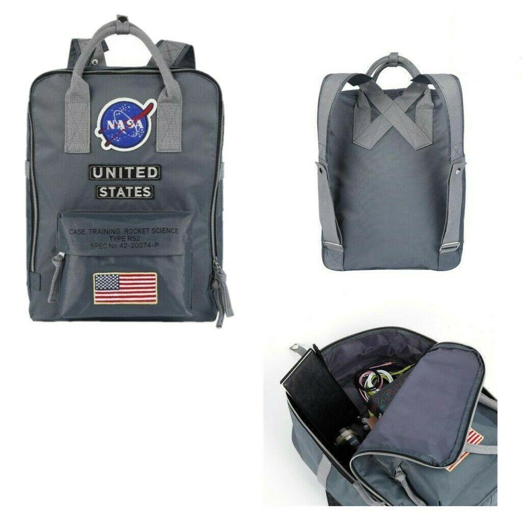 Brand Bowbag NASA Zaino da viaggio 19SS Bandiera nazionale Designer Nylon Womens School School US Multifunzione Borse da uomo Borsa da uomo Borsa da uomo Borsa D'FSDH
