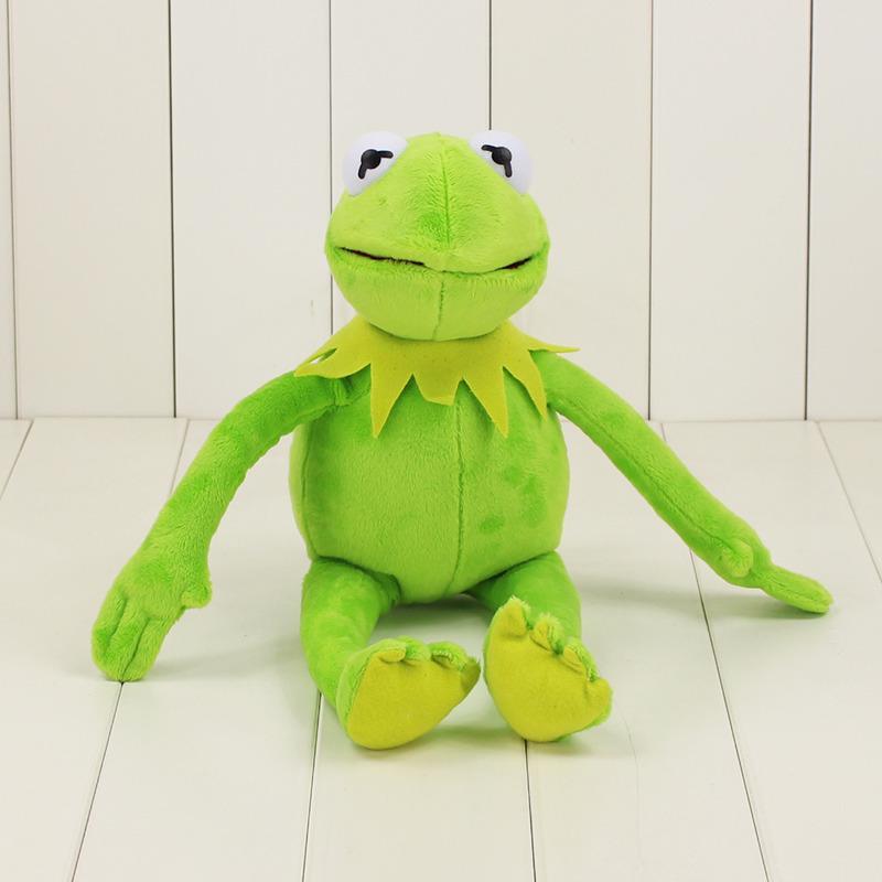 41 centímetros Sesame Street Kermit Plush Toys Frogs Boneca Stuffed Animal Toy transporte da gota Presentes de Natal de férias para crianças Y200703
