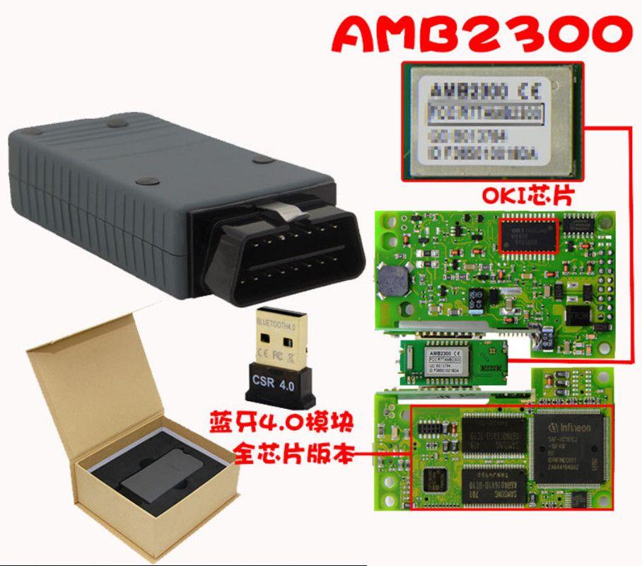 UK Car 5054A ODIS V4.4.10 Interface Diagnostic Full Chip Accessories W//Bluetooth