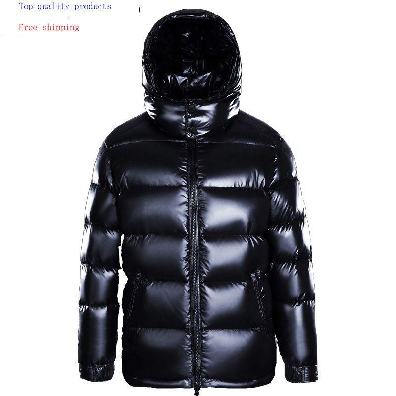 Winter Down Jacket Men Hooded Thick Coat Puffer Jacket Men High Quality Men's Down Jackets 2020 M7YYF8001 KJ3116