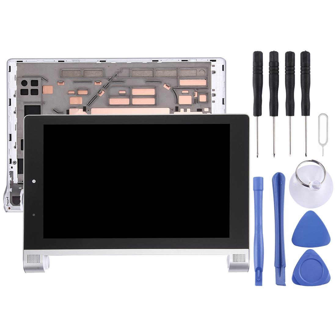 LCD Screen and Digitizer Full Assembly with Frame for 8 inch Lenovo YOGA Tablet 2 830 / 830f