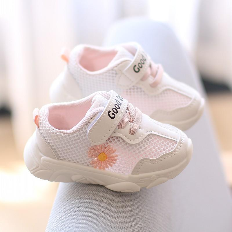 Fashion Breathable Baby First Walkers Toddler Mesh Sports Shoes for Boys Girls