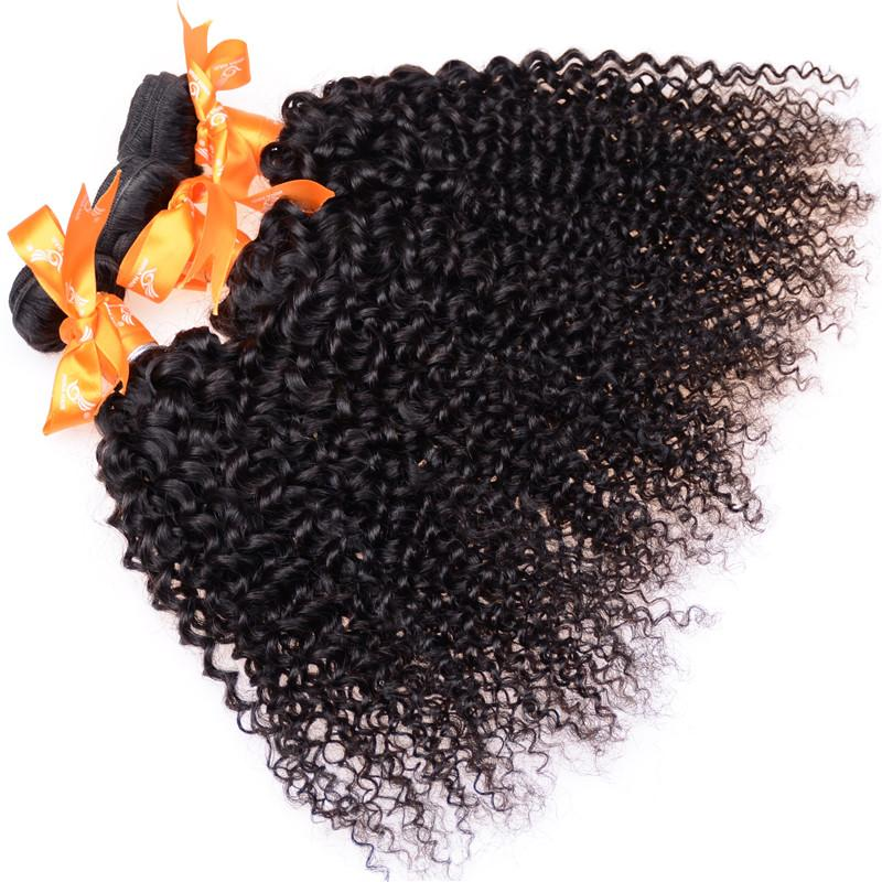 50%Off!New Curly Hair Extensions 100% Brazilian Virgin Hair Kinky Curly 3pcs lot Peruvian Malaysian Indian Mongolian Kinky Curly Hair Weaves