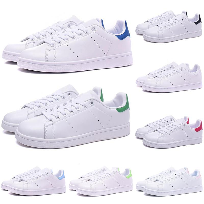 New Arrival Stan Smith casual shoes for men women black white green Designer flat Leather mens trainers Sports Sneakers shoe size 36-44