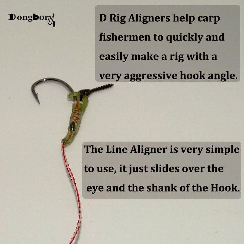Carp Fishing Rig Aligners Pop Up Terminal Tackle Camo Hook Line Aligner