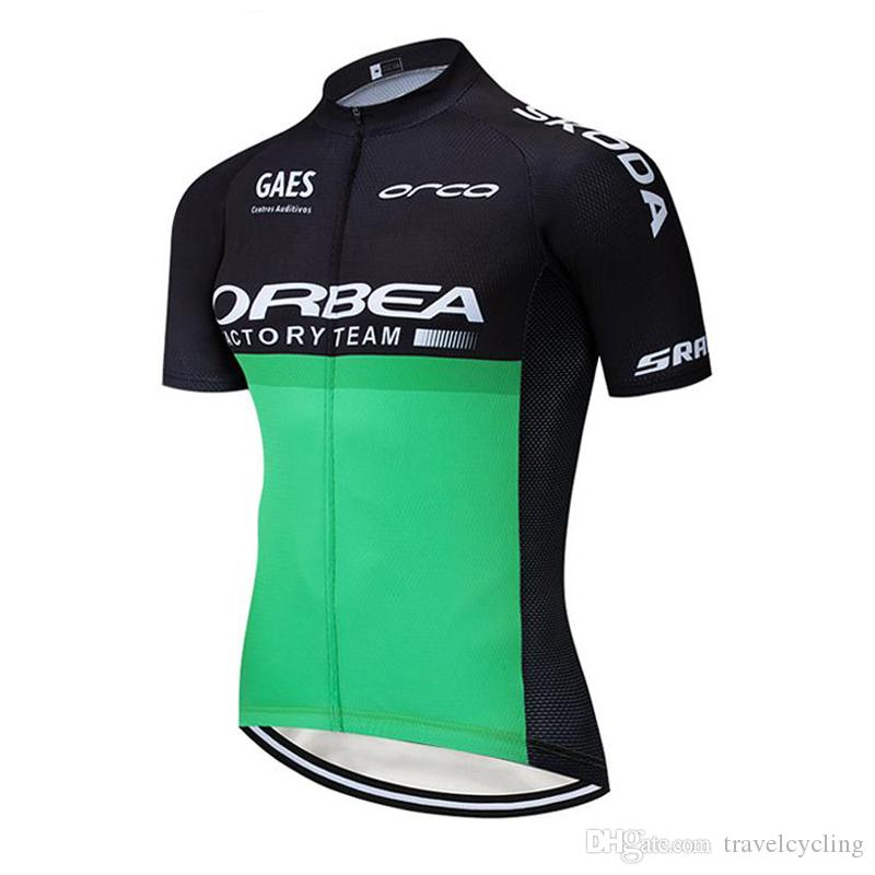 New ORBEA Team men bike jersey cycling outfits 2020 summer quick dry road bicycle shirt racing clothing Outdoor Sportswear Y121802