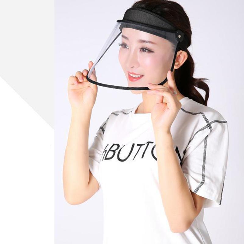 Außen windundurchlässige Sicherheit Gesichtsschutz Abdeckung Hut Maske löscht Flip Up Visier Küche Öl Fume Schutz Arbeitsschützer