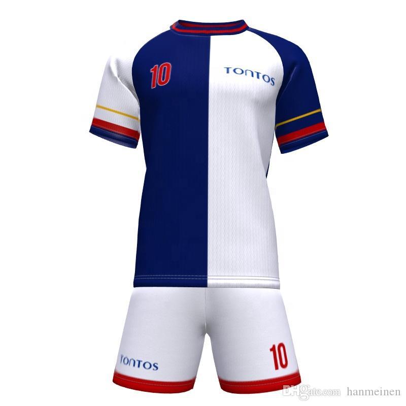 2021 Professional Football Jerseys Children Uniform Men Boys ...