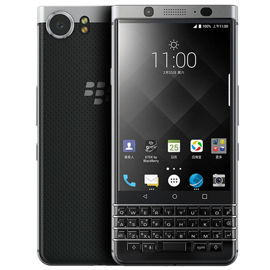 Refurbished Original Blackberry Keyone 4.5 inch Octa Core 3GB RAM 32GB ROM 12MP Camera QWERTY Keyboard Unlocked 4G LTE Android Phone 1pcs