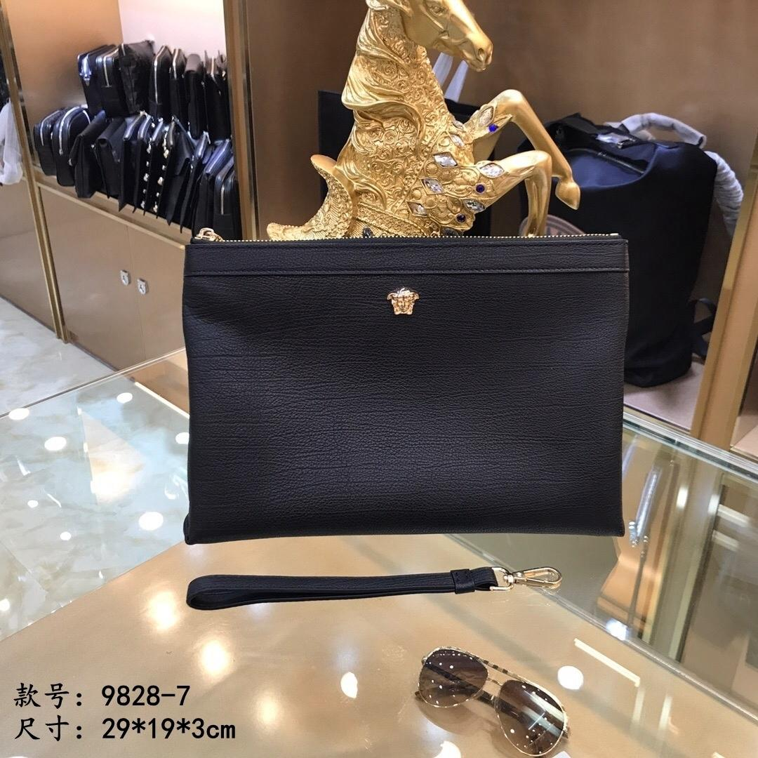 Son moda kişilik Erkek el çantası iş eli büyük kapasiteli erkek ve kadın eli tutma Cüzdan 022.004 tutan