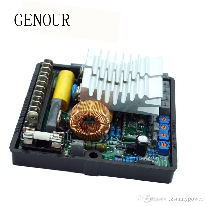 NEW SR7 AVR Автоматический регулятор напряжения Стабилизатор для дизель-генераторной установки генератора частично снизить стоимость перевозки