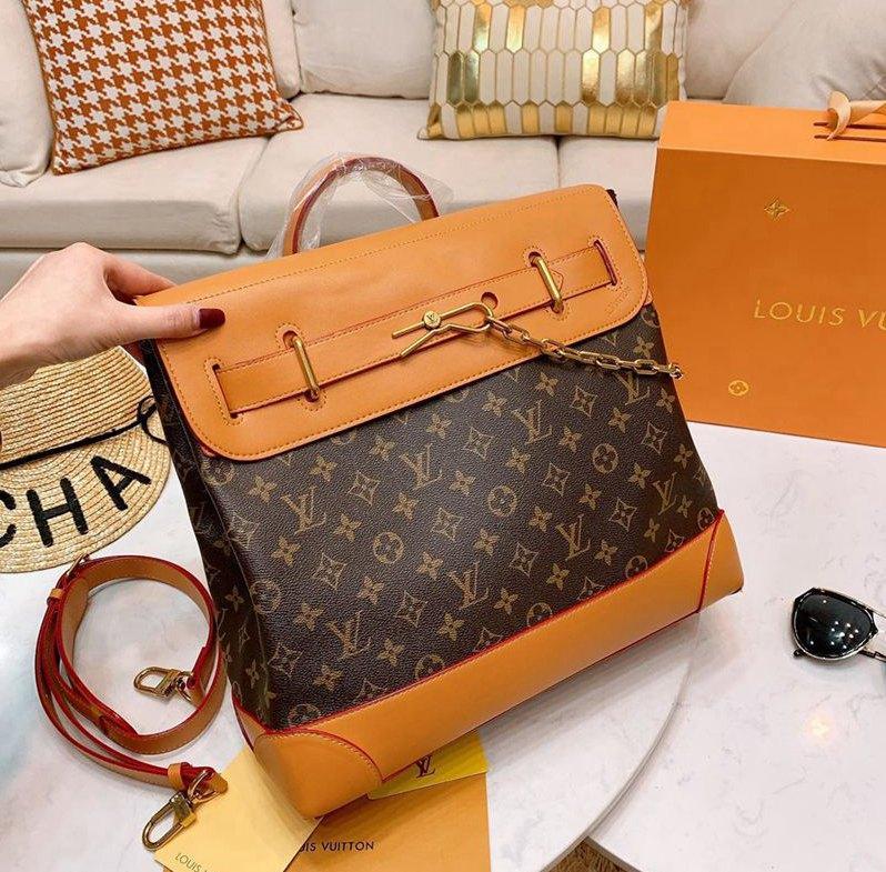 Lüks deri yeni moda omuz altın zincir bayan çanta yüksek kalite Messenger çanta sıcak satış -08361