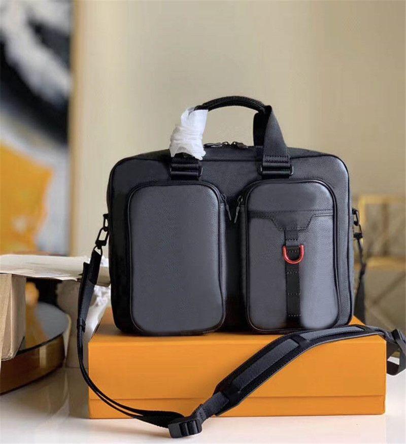 Çanta Omuz Erkek Nakliye Klasik Çanta Eşleştirme Deri 6 cm Ücretsiz 2021 Kalite Üst Dünya Çapında 40278 36 cm Boyutu 27 cm Lüks HDHNW