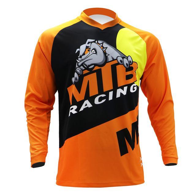 Moto Motocross Jersey Maillot Ciclismo Hombre DH Doundhill Джерси с дороги горы Spexcec Clycling с длинным рукавом MTB Jersey