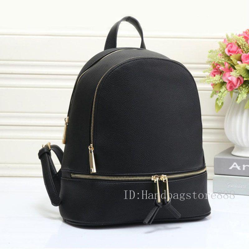 Heiße Art und Weise Frauen berühmte Rucksack Stil Beutel-PU-Qualität Handtaschen für Mädchen Frauen Designer Schultertragetasche Geldbeutel