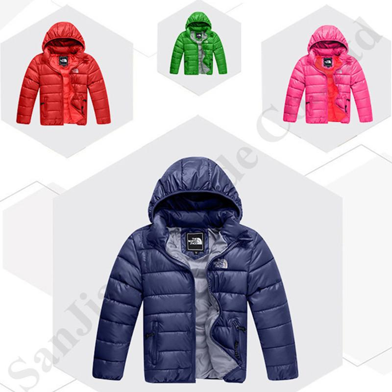 New Kids Boys Puffer Quilted Zipped Hooded Padded Warm Bubble Coat Jacket