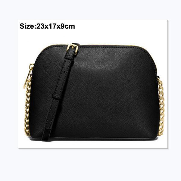 Free shipping brand new Women's Bags European and American fashion designer shell bag PU15 color gold chain / a large number of discounts