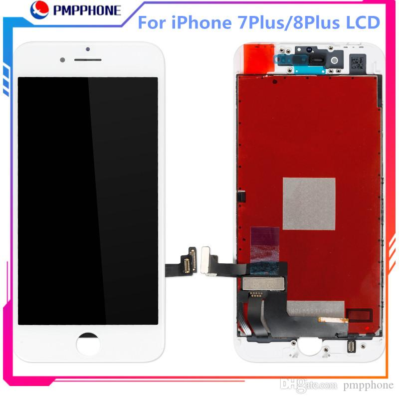 Tianma LCD di alta qualità per iPhone 7 Plus 8plus 3D schermo touch Digitizer Assembly libero del DHL