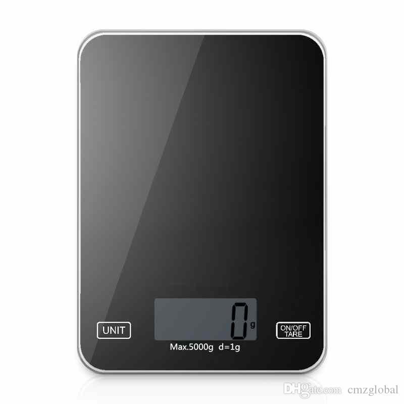 Dijital mutfak Taşınabilir Teraziler Cep LCD Precision'ın 5kg mutfak elektronik terazi Ağırlık Denge Mutfak mutfak Araçları Scales