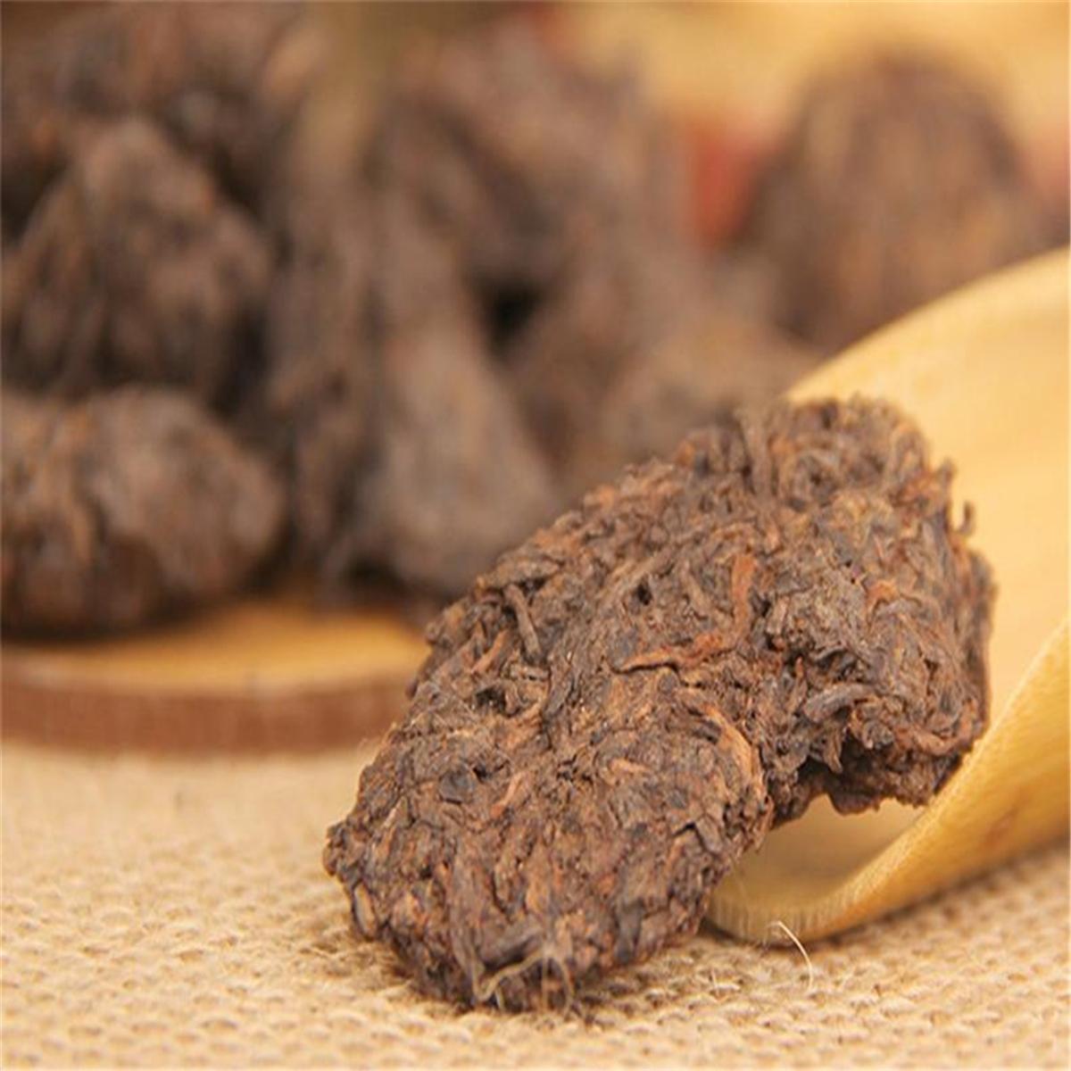 200g reifen puer tee lose gealtert schwarz puerh tee block organisch natürlich puer alte baum gekochte puerh grüne nahrung heiße Verkäufe