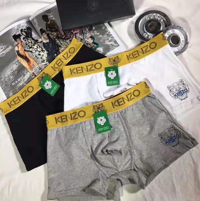 Meilleures ventes Mode Sous-vêtements pour hommes sexy hommes de 0kenzo Sous-vêtements Shorts Loisirs luxurys Sous-vêtements pour hommes y-3
