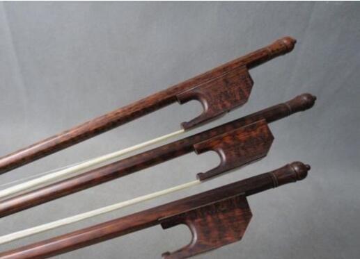 "3 adet Barok tarzı denge profesyonel letterwood 27 "" viola yay # 7201"