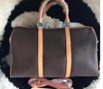 En kaliteli kadın Büyük hakiki oksitleyici Deri lucury bagaj seyahat bayan çanta çantası tasarımcı çanta çantası